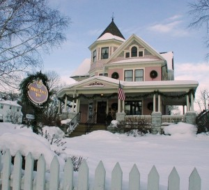White Lace Inn Winter