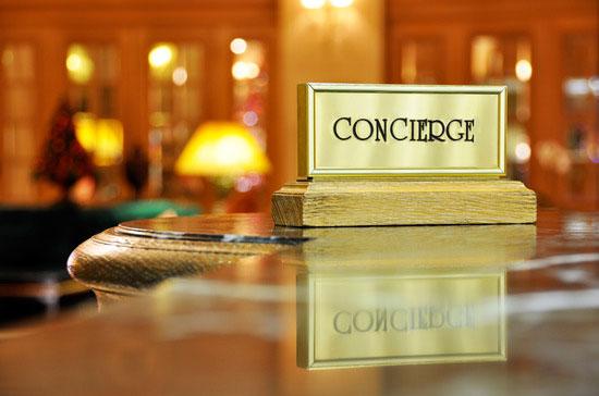 Concierge Page