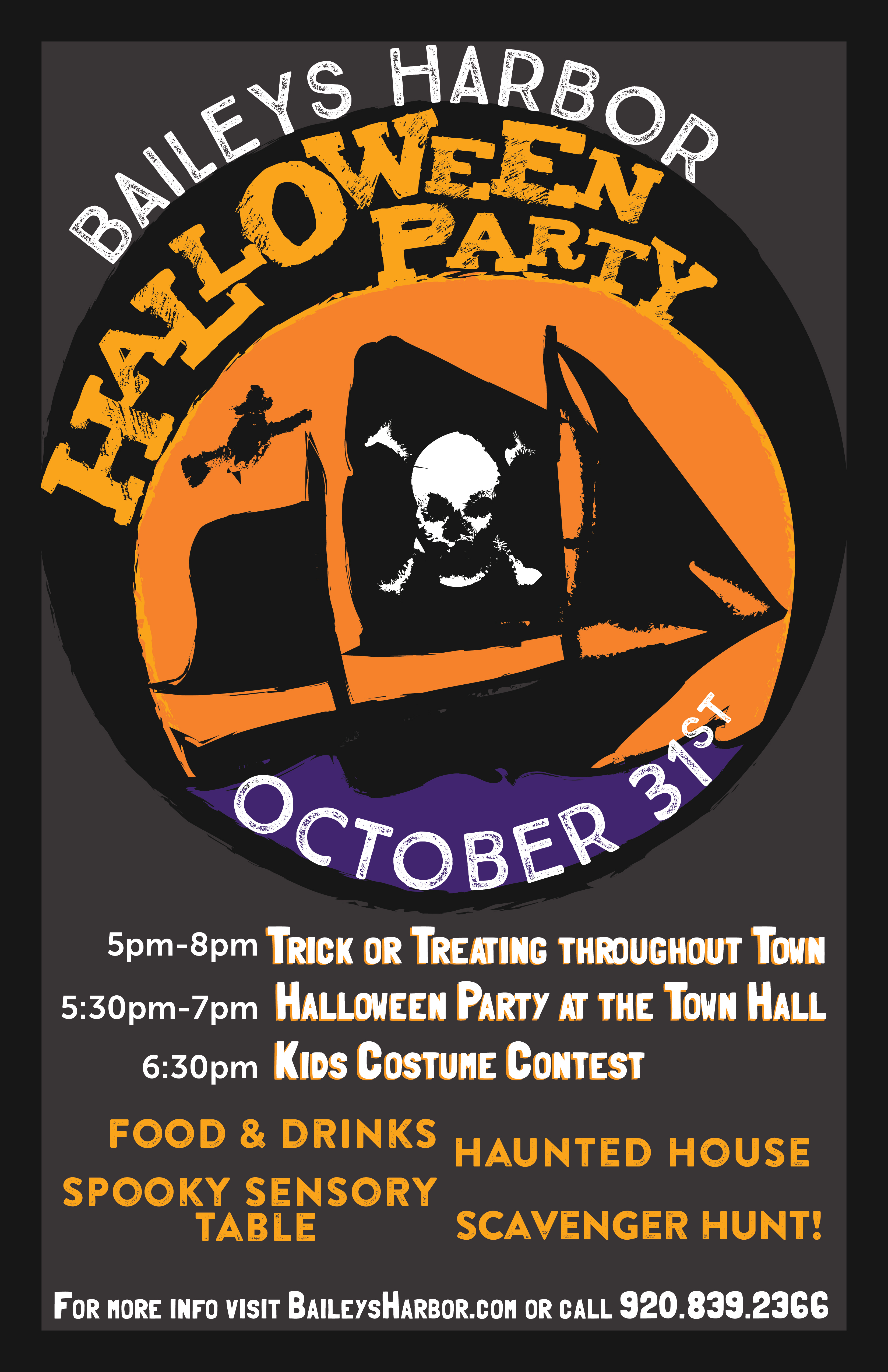 Halloween Party In Baileys Harbor Door County Lodging