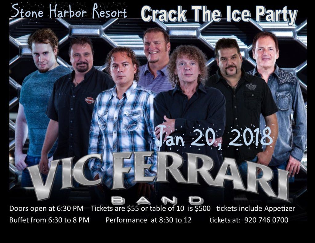 Crack The Ice Party W Vic Ferrari Band At Stone Harbor