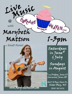 Mb at Cupcake poster 2014