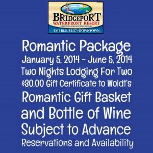 Bridgeport Romantic Package