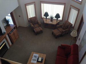 Glidden Lodge - a sweet suite!