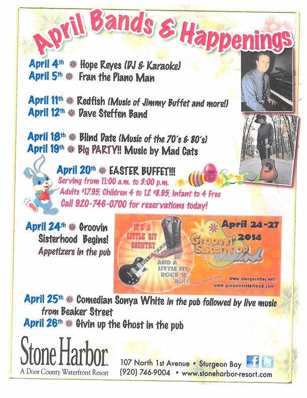 Stone Harbor April 2014 events