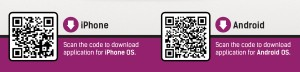 QR codes for DC Chefs App