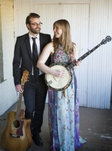 Death Folk is Nick Hoover & Jess Holland. Photo by Kelly Avenson