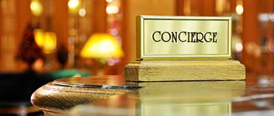Concierge Sign