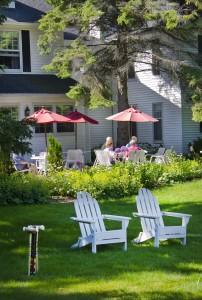 Eagle Harbor Inn BB 5 Croquet 2014 spring