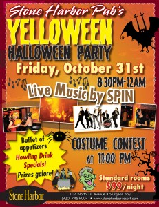 Stone Harbor Halloween Party