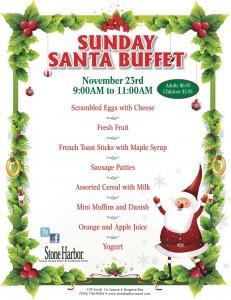 Sunday Santa Buffet 2014 SHR