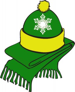 PACKER HAT SCARF