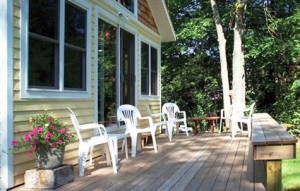 Creed Cottage porch