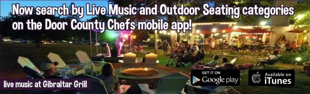 Chefs summer music banner