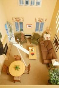 Stone Harbor Resort loft%20room%20view